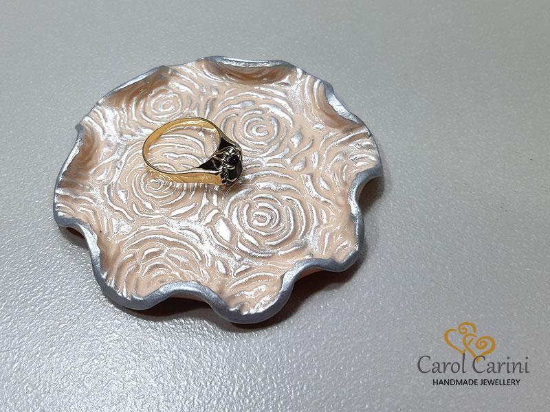 Polymer jewellery dish